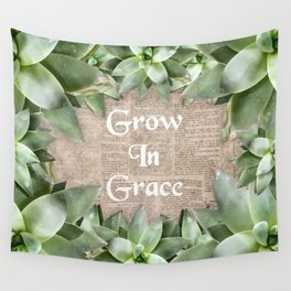 Grow In Grace pg Wall Tapestry