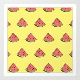 Magic Melon Art Print