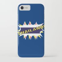 thailand iPhone & iPod Cases featuring Thailand by mailboxdisco