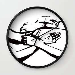 "Wing Chun ""How I Roll""; Wing Tsun / Ving Tsun Wall Clock"