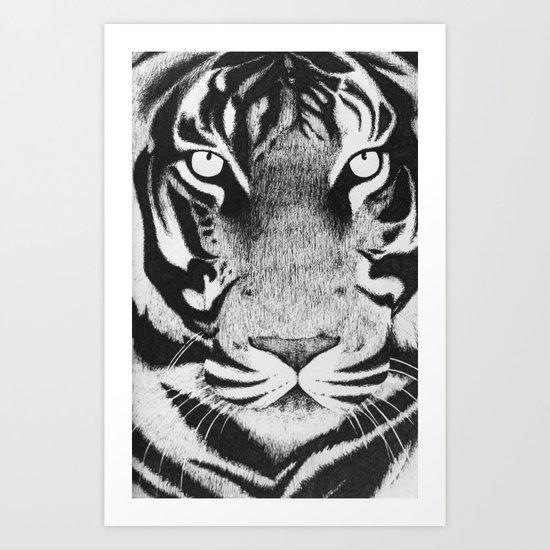 Be a Tiger Art Print