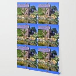 Annalongs Corn Mill, Ireland. (Painting) Wallpaper