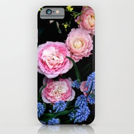 Mixed Flowers iPhone Case