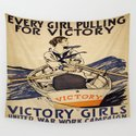 Vintage poster - Victory Girls by mosfunky