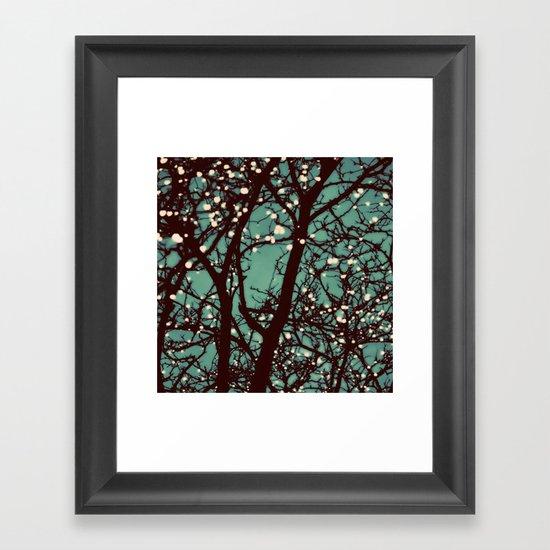 Night Lights Framed Art Print