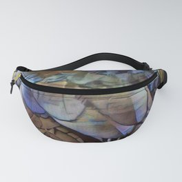 Raven Feathers II Fanny Pack