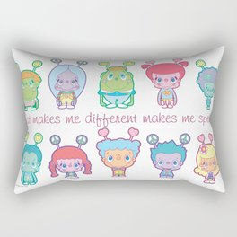 What Makes Me Different Makes Me Special Rectangular Pillow
