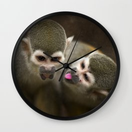 Monkeying about Wall Clock