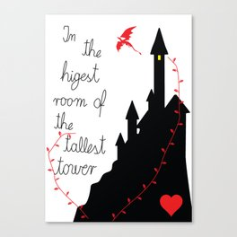 Highest tower Canvas Print