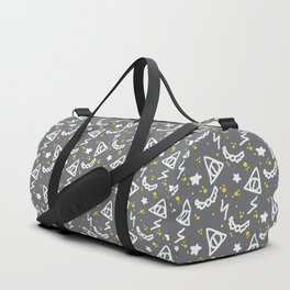 Potter Pattern Duffle Bag