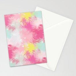 Blurred Blend - Pink Stationery Cards