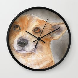 We aren't going to the vet, are we?? Wall Clock