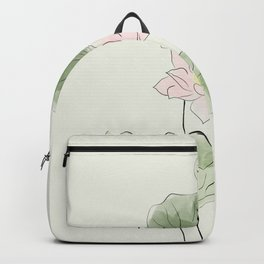 Pond of tranquility Backpack
