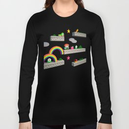 Inside Rainbow Islands Long Sleeve T-shirt