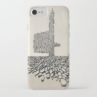 borderlands iPhone & iPod Cases featuring Borderlands by Andre Rocha Illustration