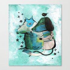 Bartukas friend Canvas Print