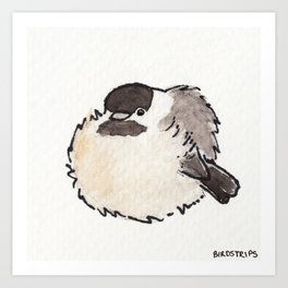 Bird no. 427: All Borbs are Good Art Print