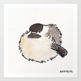 Bird no. 427: All Borbs are Good Art Print