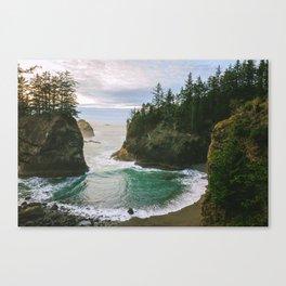 Hidden Cove on the Oregon Coast Canvas Print