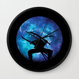 Zoro Silhouette Hunter Wall Clock