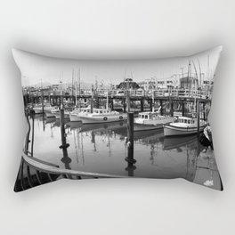 Fishermans Wharf Rectangular Pillow