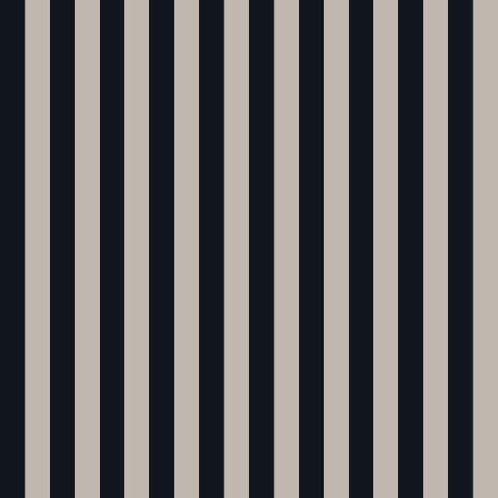 Vertical Stripes Black & Warm Gray Comforters