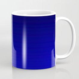 Black and Cobalt Gradient Coffee Mug