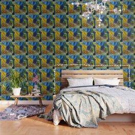 """Vincent van Gogh """"Cafe Terrace, Place du Forum, Arles"""" Wallpaper"""