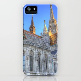 Mathias Church Budapest iPhone Case