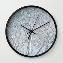 Waiting to Be Clothed Wall Clock