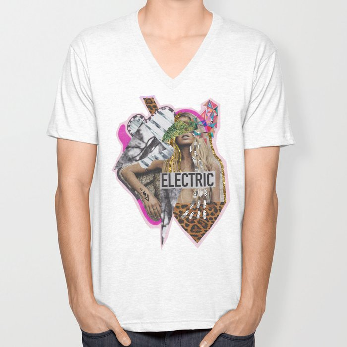 ELECTRIC FANTA-SIA  Unisex V-Neck