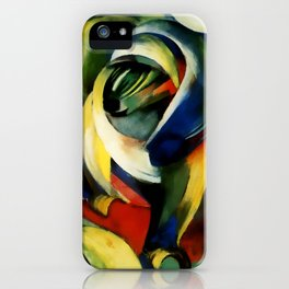 "Franz Marc ""Mandrill"" iPhone Case"