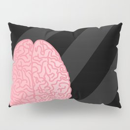 Human Anatomy - Brain Pillow Sham