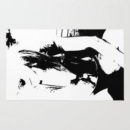 Black and white Girl Rug