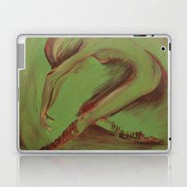 Dancer green Laptop & iPad Skin