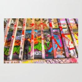 Leake Street Graffiti Artist  Rug