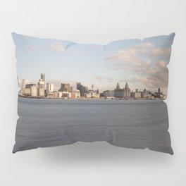 Liverpool Skyline Pillow Sham