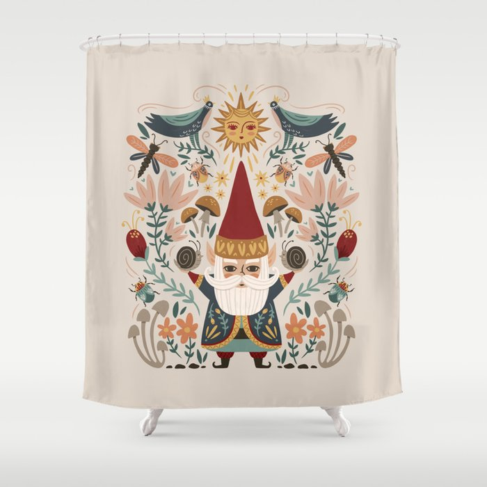 Gnome Life Shower Curtain