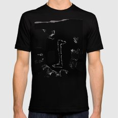 Transfer SMALL Black Mens Fitted Tee