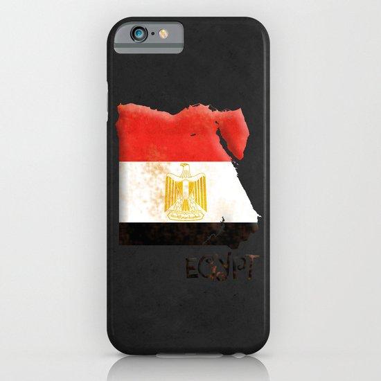 Egypt Vintage Map iPhone & iPod Case