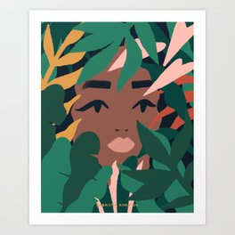 Hide & Seek Art Print