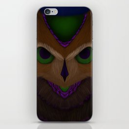 Mystic Owl iPhone Skin