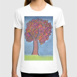 autumn tree before the storm T-shirt