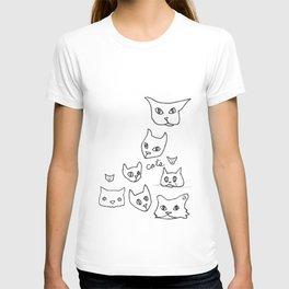 Cats Cat T-shirt