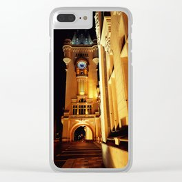Culture Palace Iasi Clear iPhone Case