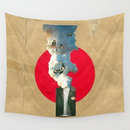 Thinking isn't easy Wall Tapestry
