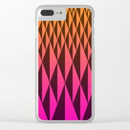 Foreign Wood at Dawn Clear iPhone Case