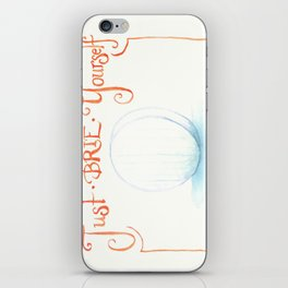 Just Brie Yourself iPhone Skin