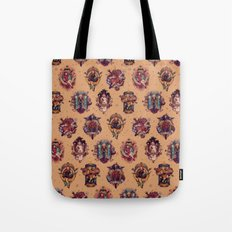All Those Bright and Shining Companions Tote Bag