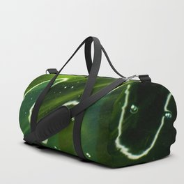 Green Algae and Water Duffle Bag